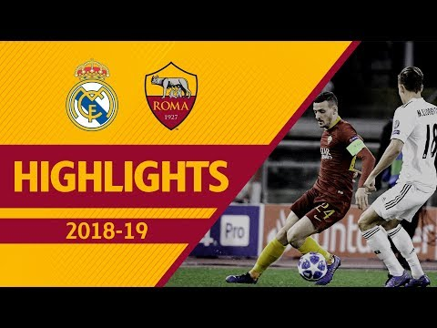 Roma 0-2 Real Madrid, Highlights UCL 2018-19