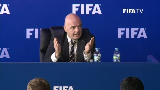 LIVE TODAY - FIFA Council - Watch the Press Conference Live !