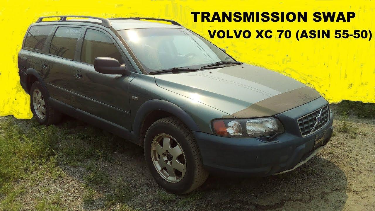 transmission swap on volvo v70 xc (asin 55-50sn) - �������� �������  ��������� swap volvo