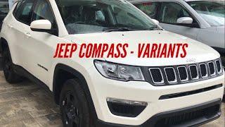 Jeep Compass variants