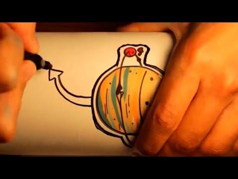 Custom Sharpie Hydro Flask!?!?!(Satisfying)