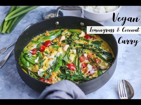 Vegan Curry - Lemongrass & Coconut Quick Recipe
