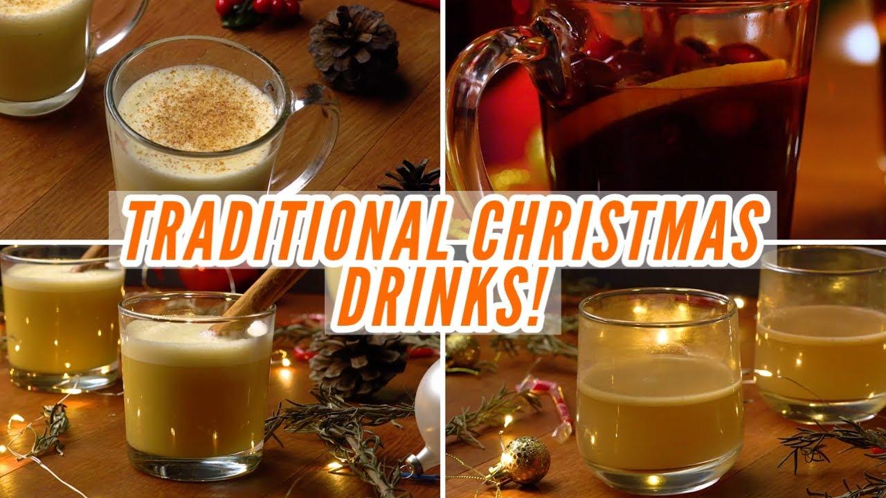 Traditional Christmas Drinks Youtube