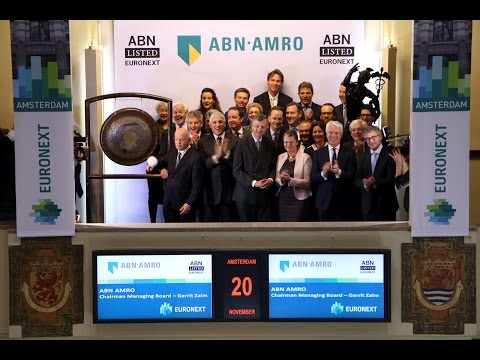 ABN AMRO lists on Euronext Amsterdam
