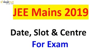 Two Attemps of JEE Main 2019