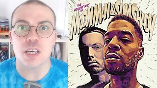 "Kid Cudi & Eminem - ""The Adventures of Moon Man & Slim Shady"" TRACK REVIEW"