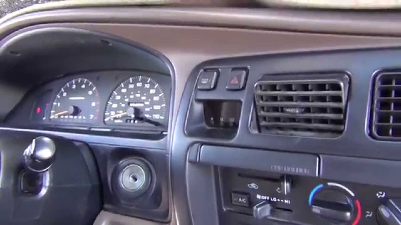 1998 Toyota 4runner Led Dash Replacement
