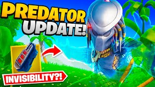 Fortnite Added Invisibility... (Predator Update)