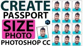 Hintçe ArtBalaghat İçinde vesikalık Fotoğraf Photoshop CC Oluşturma