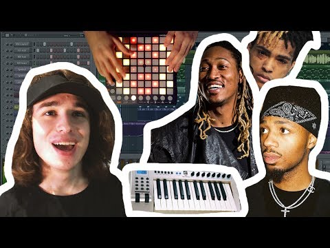 How many SAMPLES can you flip in 10 MINUTES? (Mask Off, DJ Khaled, Look At Me)