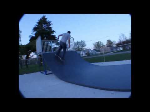 Brad Coats and Alex - Skateboarding, Jacksonville, IL