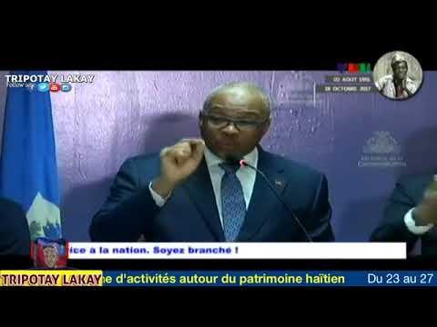 PM Jacques Guy Lafontan di li pap kite moun itilize machin leta ankò pou al wè mennaj yo