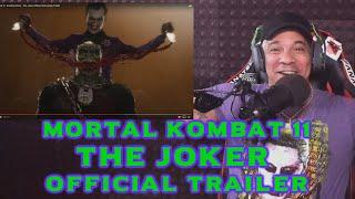 Mortal Kombat 11 - The Joker Official Trailer REACTION
