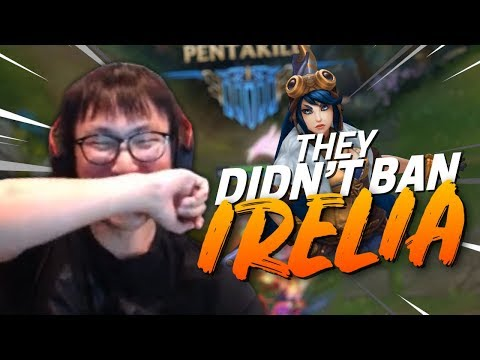 THIS IS WHAT 0 HOURS OF IRELIA LOOKS LIKE - Doublelift