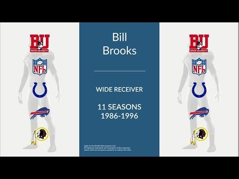 Bill Brooks: Football Wide Receiver