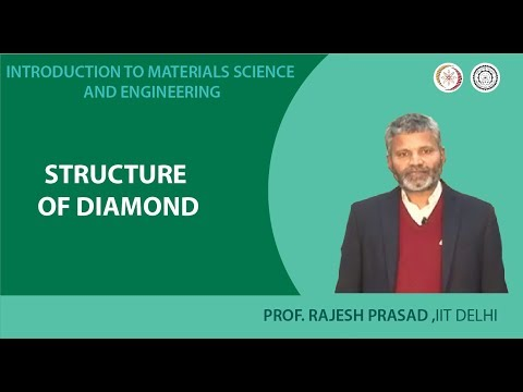 mod03lec28 - Structure of diamond