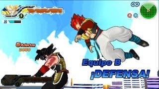 DRAGON BALL  ttt heroes god mission 1: RESPETENLO,ADORENLO, INCLINENCE ANTE BARDOCK TIME BRAKE