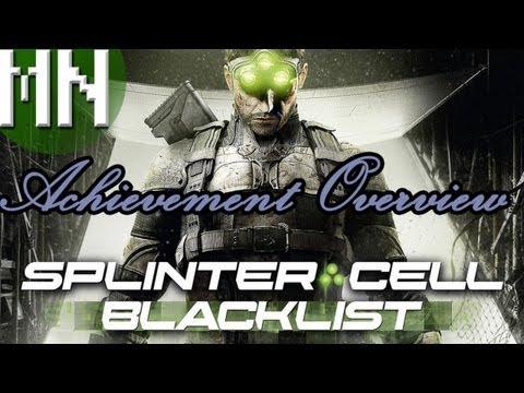 Splinter Cell: Blacklist - Achievement Overview