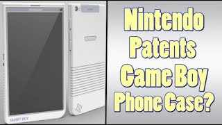 Game Boy Phone Patent From Nintendo - Game Boy Classic?