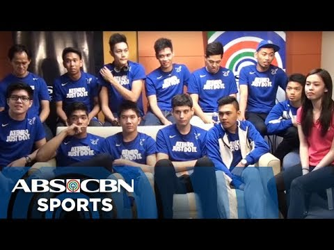 Chat with Ateneo Blue Spikers (Part 1)