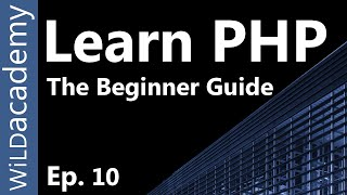 Learn PHP - PHP Programming Tutorial - 10 Mp3