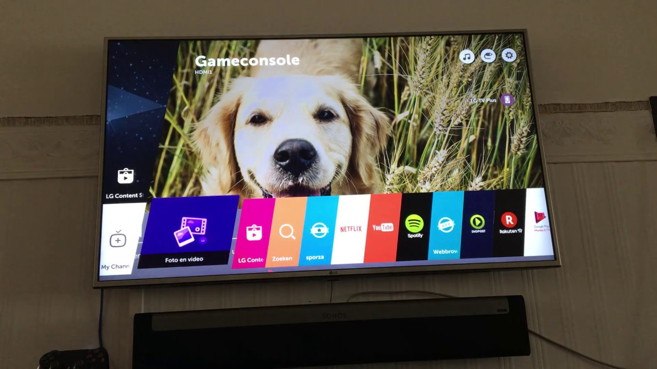 Does someone know how to change the default wallpaper on a LG webOS smart  tv???