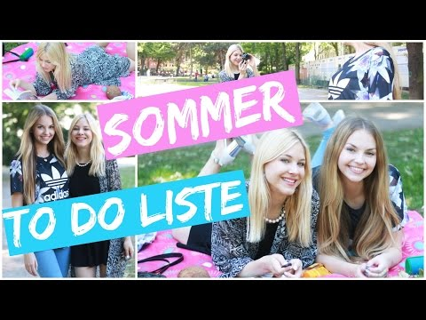 20 Things To Do This Summer I DIY Getränk, Picknick, Pflegeprodukte, Eis...