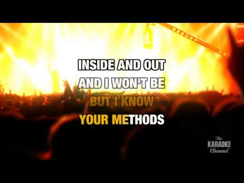Fire And Ice in the style of Pat Benatar | Karaoke with Lyrics