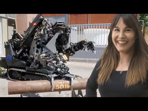 Hands-on with one of the world's strongest robot arms