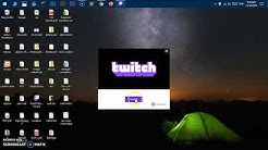 How to Install twitch app on Windows 10 PC