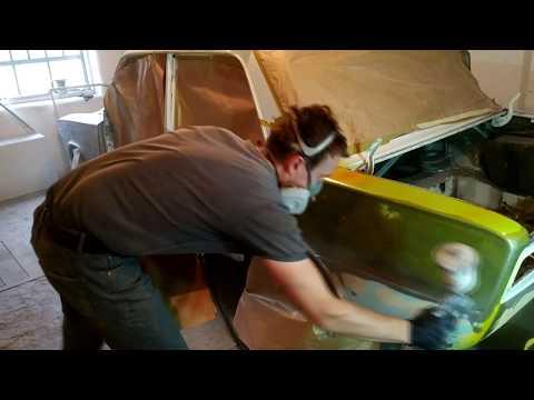 Реставрация кузова 2106. Пескоструй. Покраска. Классика.