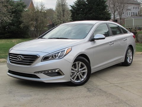 2015 Hyundai Sonata ECO Start Up, Road Test, and In Depth Review