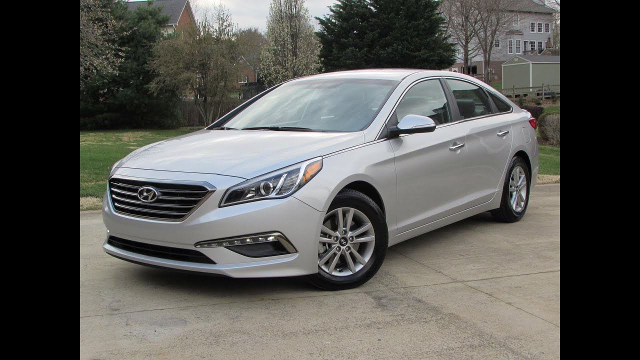 2015 Hyundai Sonata ECO Start Up, Road Test, and In Depth ...