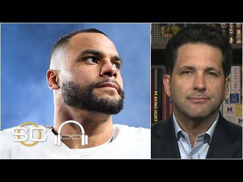 Dak Prescott plans to sign franchise tender with Dallas Cowboys | SC with SVP смотреть видео онлайн