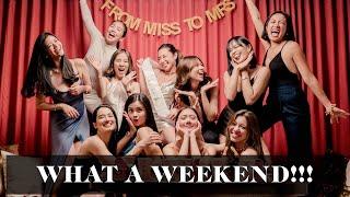 Kryz's Bachelorette Party in Vegas | Laureen Uy