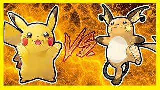 PIKACHU VS RAICHU! EPICKI POJEDYNEK! | Pokemon: Let's Go Pikachu & Eevee! (09)