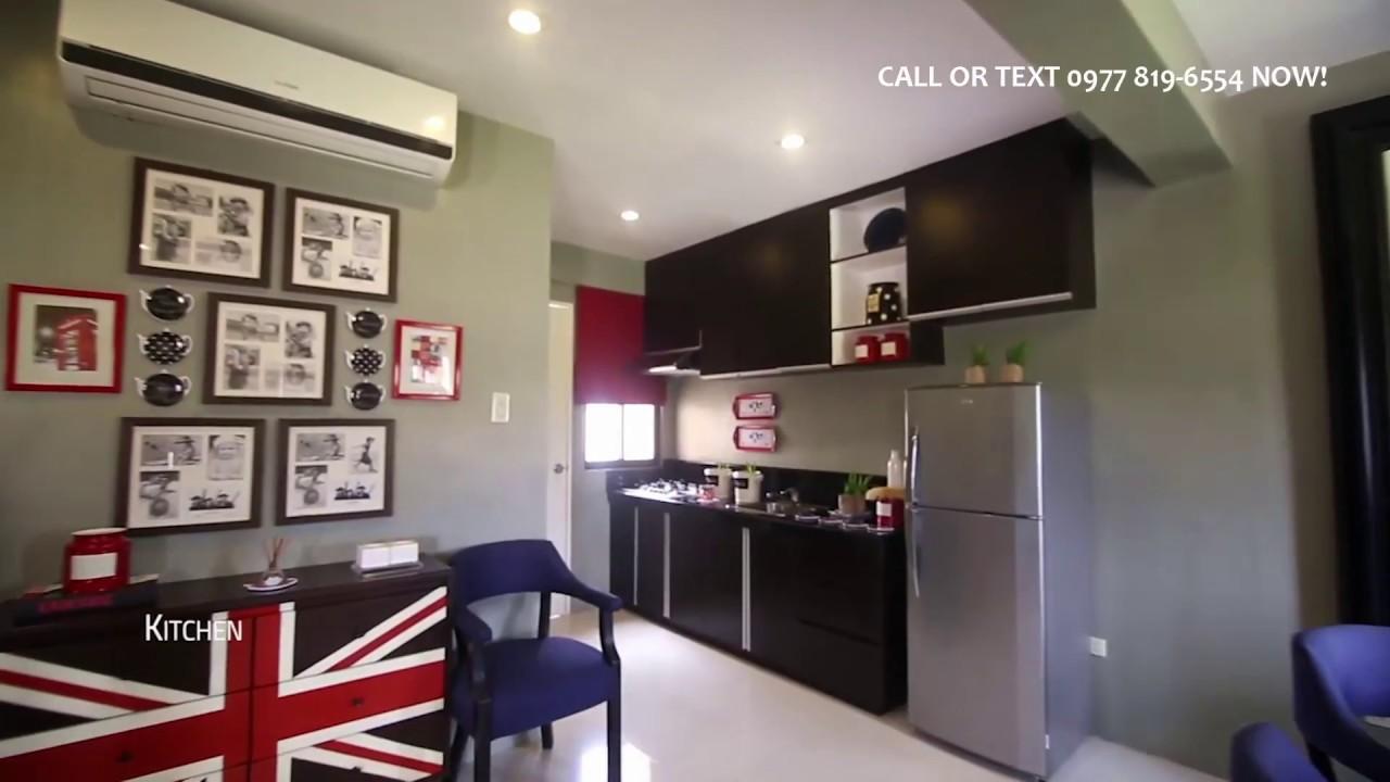 Ella 5br House Model Interior In Camella Homes Youtube