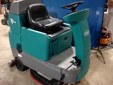 Tennant T7 Floor Scrubber For Sale 668 Hours
