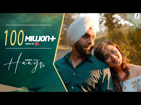 Haaye Ve (Official Video) Ammy Virk | Raj,SunnyVik,Navjit,Ketika | Latest Punjabi Songs| Jjust Music