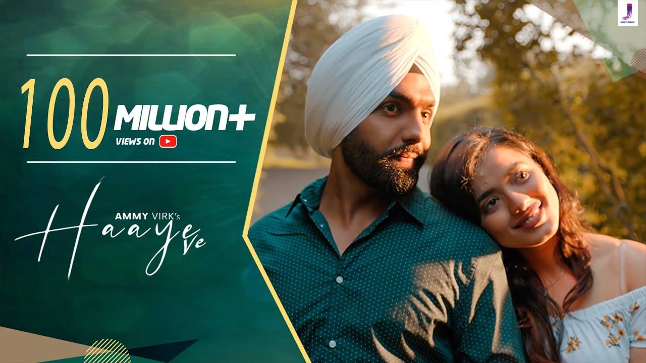Haaye Ve (Official Video) Ammy Virk | Raj,SunnyVik,Navjit,Ketika | Latest Punjabi Songs| Jjust Music