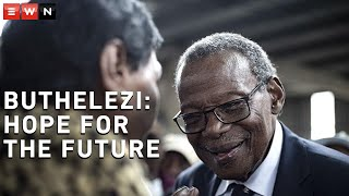 EWN had a virtual chat with Prince Mangosuthu Buthelezi ahead of his 92nd birthday. Buthelezi said that he remained hopeful despite how the country had been mismanaged.