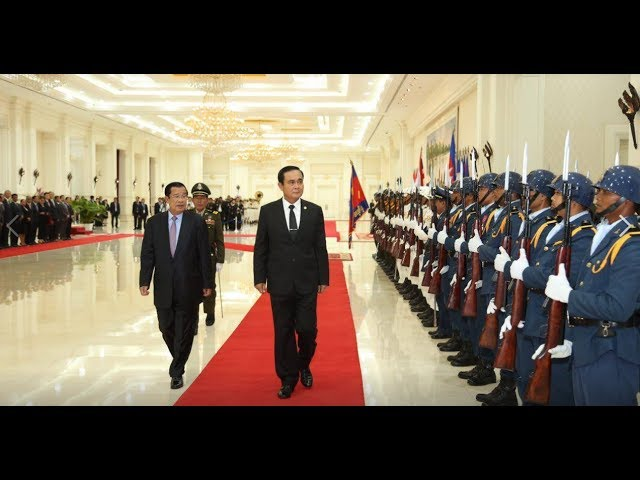 Hun Sen, Prime Minister of the Kingdom of Cambodia. 07 September 2017