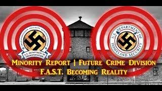Minority Report  Future Crime Division F A S T  Becoming Reality