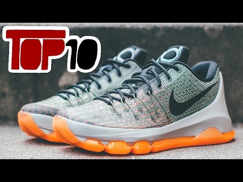 Top 10 Nike KD 8 Shoes Of 2016