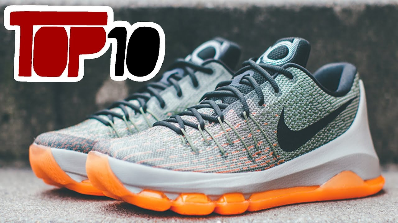a685923f9c99 Top 10 Nike KD 8 Shoes Of 2016 - YouTube