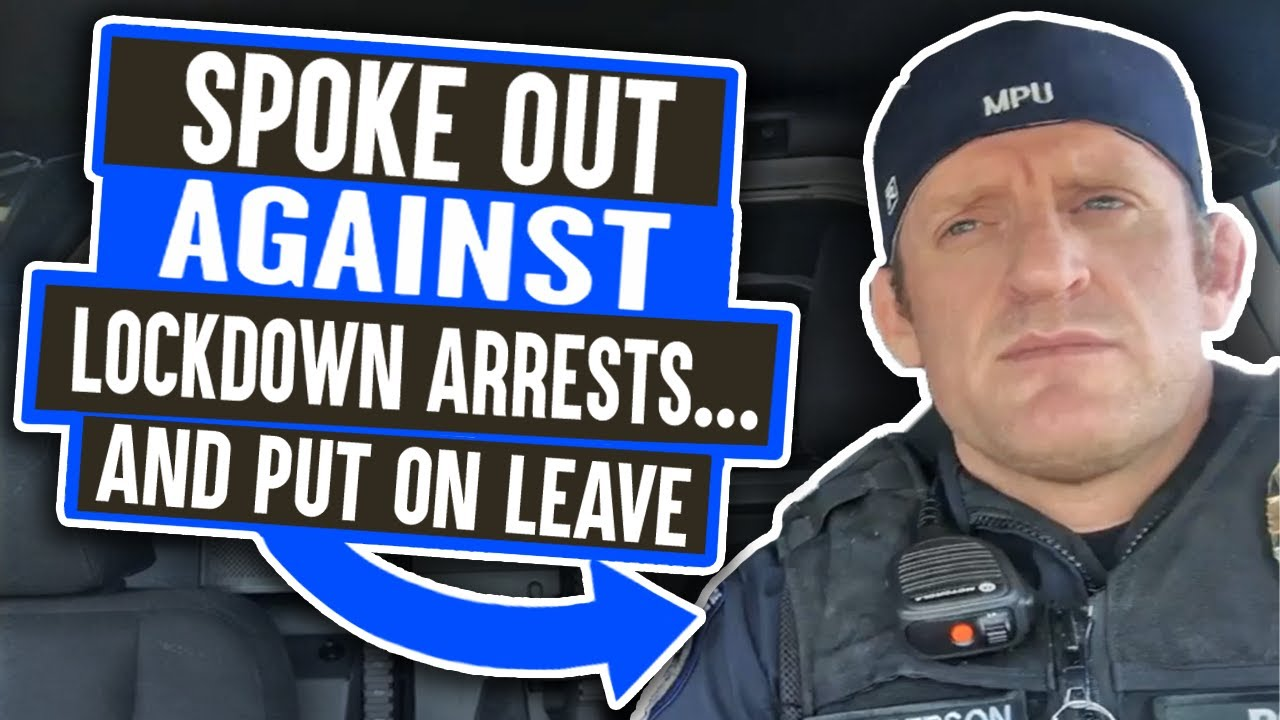 "Police Officer Makes VIRAL Video Discouraging COVID-19 Lockdown Arrests, and Gets Put ""On Leave"