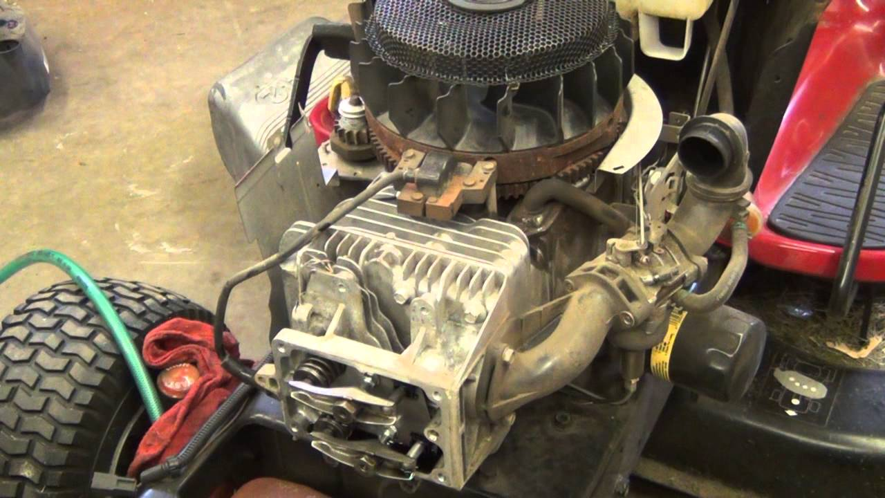18 Hp Briggs And Stratton Carburetor Diagram Geyser Wiring Cylinder Head Gasket Replacement - Youtube