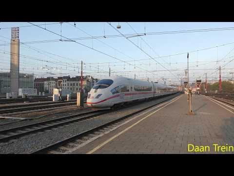 ICE-3 46 54 vertrekt uit Brussel Zuid