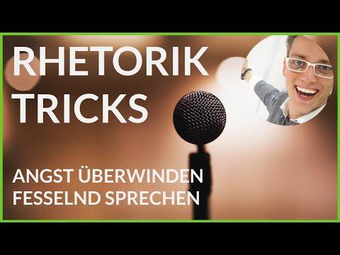 Mehr Aufmerksamkeit bekommen, keine Nervosität mehr - Rhetorik Tricks BEST OF (1/2): Tipps und Hacks