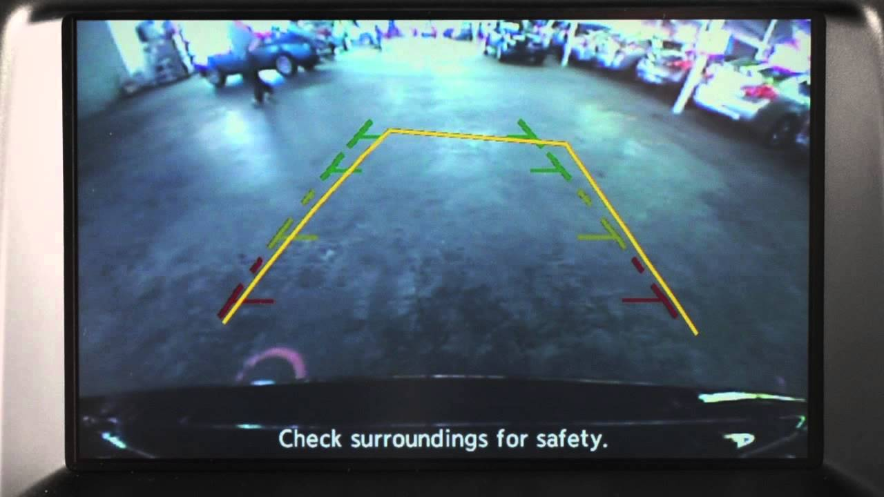 Nissan Altima: RearView Monitor (if so equipped)